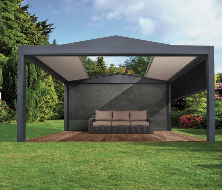pergolas toile enroulable pontarlier doubs franche. Black Bedroom Furniture Sets. Home Design Ideas